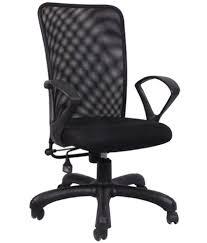 hetal enterprises medium back metal natural finish office chair