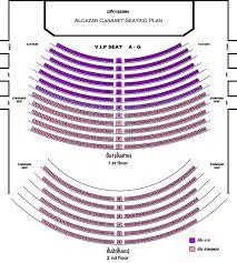 Red Rocks Seat Map Alcazar