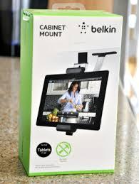 Belkin Kitchen Cabinet Tablet Mount Belkin Tablet Cabinet Mount Reviewed Baking Bites