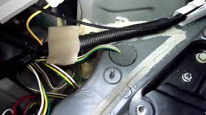 2007 highlander tow hitch wiring installation