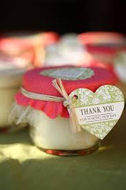 wedding candle favors jar candle wedding favors