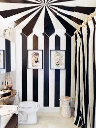 Black White Stripe Curtain Black And White Stripe Curtains Home Designs Idea