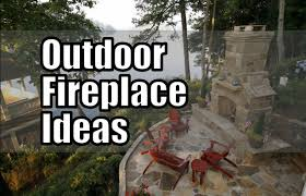 30 outdoor fireplace ideas backyard designs youtube