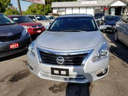 nissan altima for sale gta ontario used car dealership 22g auto sales