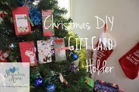 gift card tree christmas diy gift card holder