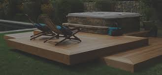 tub installation ideas backyard deck designs portable spas