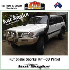 nissan patrol western australia kut snake snorkel kit nissan gu patrol