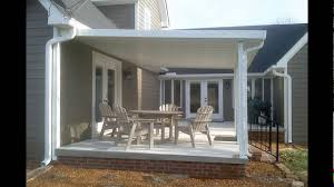 Insulated Patio Roof by Aluminum Patio Covers Youtube