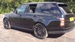 range rover autobiography black edition land rover range rover tdv6 autobiography black 2016 youtube