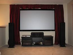 home theater curtains to cover screen avs forum home theater