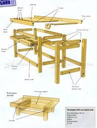 Diy Garage Workbench Plans Pratt Family by Workbench Plans Creatopliste Com
