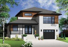 contemporary modern home plans w3713 attractive affordable small contemporary design 3