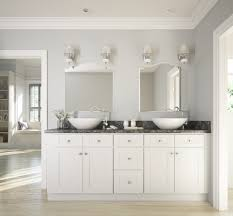drop dead gorgeous bathroom vanities brilliant white shaker ready