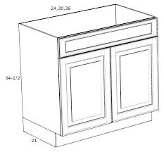what sizes do sink base cabinets come in pre assembled oxford white shaker 36 bath sink base cabinet