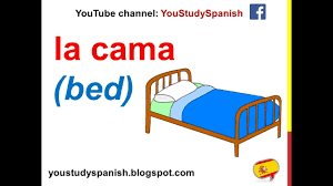 The Bedroom Furniture Spanish Lesson 62 Furniture In The Bedroom In Spanish Rooms And