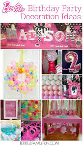 Barbie Themed Baby Shower by 22 Best Barbie Birthday Images On Pinterest Barbie Birthday