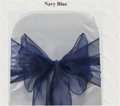 navy blue chair sashes popular navy blue chair sash buy cheap navy blue chair sash lots