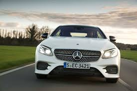 mercedes benx 2018 mercedes e400 coupe front end in motion motor trend