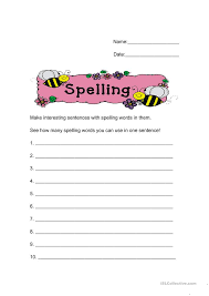 create spelling worksheets free worksheets library download and
