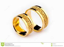 gold wedding rings gold wedding rings royalty free stock image image 26636056