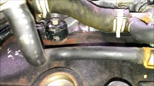 Nissan Altima 1995 - 97 nissan altima pcv valve replacement youtube