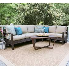 sectional patio conversation sets outdoor lounge furniture
