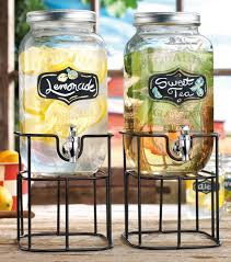 Kitchen Accessory Ideas by Furniture Buy Mason Jar Beverage Dispenser With Black Metal Stand