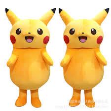 pikachu costume customized 160cm 170cm pikachu costume for