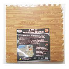96 sq ft interlocking mats foam floor wood grain exercise