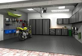 just needs a work table and a lift to complete this garage