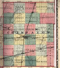 Illinois Zip Codes Map by Champaign County Illinois Maps And Gazetteers