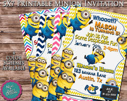 minion birthday party invitations templates alanarasbach com
