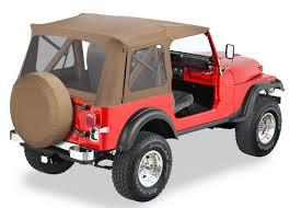 jeep soft top black 1976 1995 jeep wrangler bestop supertop soft top bestop 51599 01