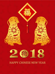 lunar new year photo cards dog year new year card 2018 birthday greeting cards by