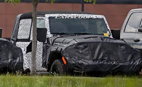 modified 4 door jeep wrangler quartet of 2018 jeep wrangler jl 3 and 5 door prototypes spied