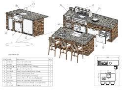 Kitchen Design Sketch Design Services Alfresco Grills