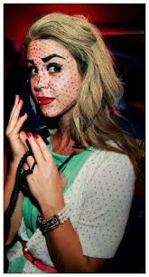Pop Art Halloween Costume Pop Art Body Painting Halloween Ideas Face Art Body Art Drawing
