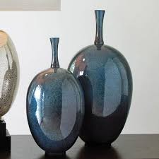 Uttermost Vases Blue Vase On Sale Glass Ceramic Crystal Floor U0026 Cobalt Choices