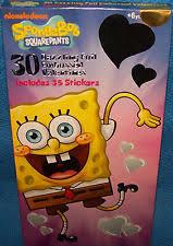 spongebob valentines day cards spongebob squarepants valentines day cards 32 stickers 2003 ebay