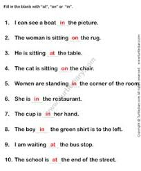 list of prepositions prepositions a sentence and student