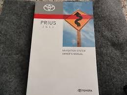 2011 toyota prius owners manual 2011 toyota prius navigation owners manual ebay