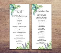best wedding programs 89 best wedding programs images on menu receptions