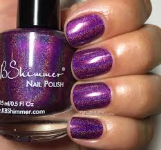 orchidding me holographic nail polish by kbshimmer