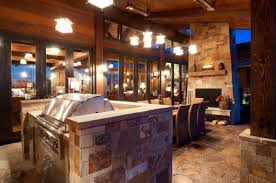 indoor kitchen add an outdoor kitchen with indoor style home improvement home