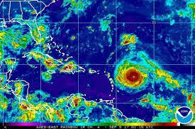 caribbean weather map record breaking hurricane irma bears on caribbean weather