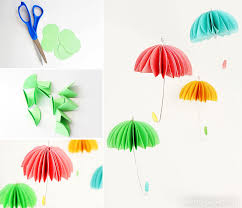How To Make Paper Umbrellas - how to make paper umbrellas