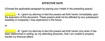 free power of attorney forms pdf word eforms u2013 free fillable