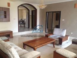 chambres à louer ngaliema villa meubl e de 6 chambres louer m t o