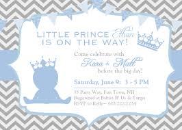 prince baby shower invitations cloveranddot com