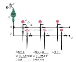 Self Watering Diy Micro Drip Irrigation System Plant Self Watering Garden Hose